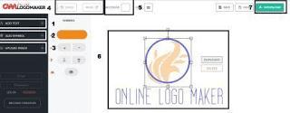 Cara membuat logo online gratis tanpa skill untuk blogger atau brand prusahaan