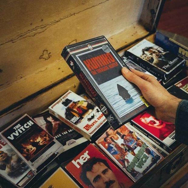VHS de filmes atuais OfftrackOutlet