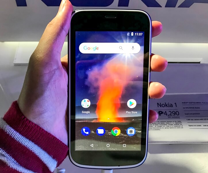 Nokia 1 Lands in PH; Priced at Php4,290