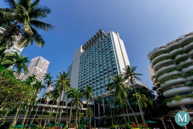 Tower Wing of Shangri-La Hotel Singapore