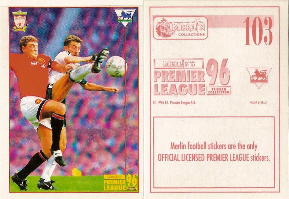 188 Merlin Premier League 96-Jurgen Sommer Queens Park Rangers no