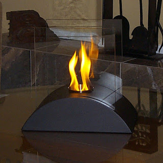 ethanol fire place
