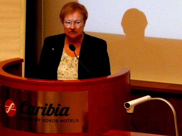 Baltic Sea NGO @ Turku: Tarja Halonen