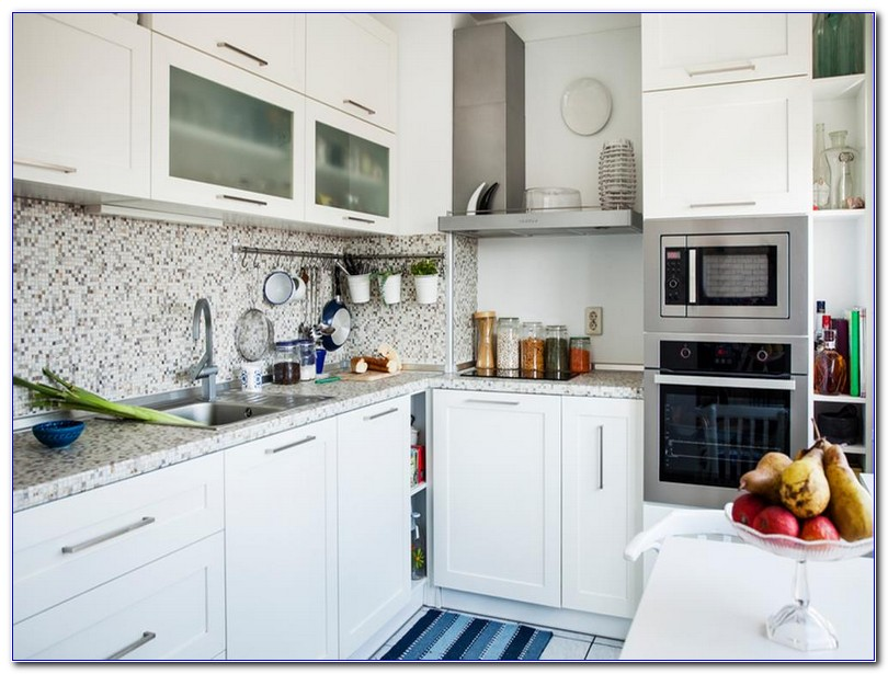 Small Apartment Kitchen Renovation Ideas With White Cabinets To Ceiling Stainless Steel Liances Best Granite