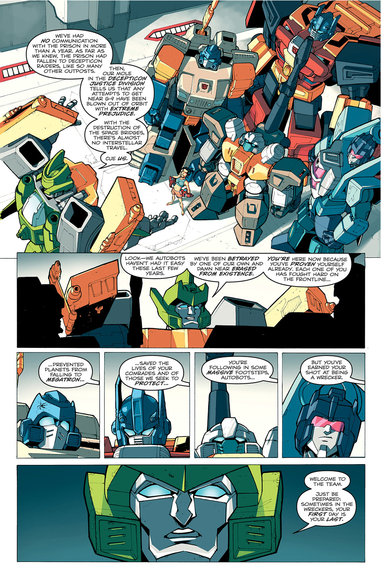Read online Transformers: Last Stand of The Wreckers comic -  Issue #1 - 15