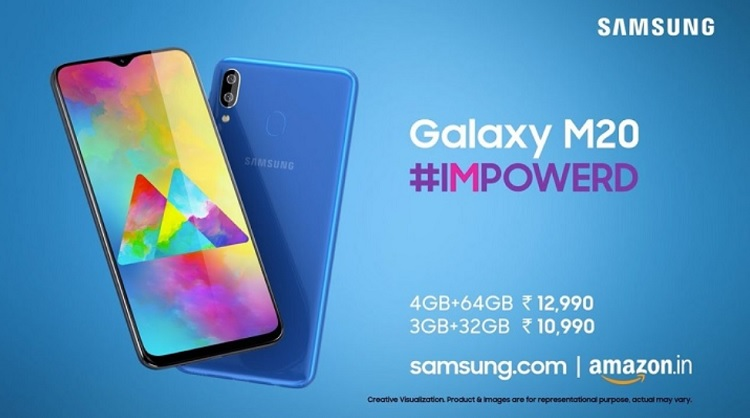 Samsung Galaxy M20, Galaxy M10 Now Official
