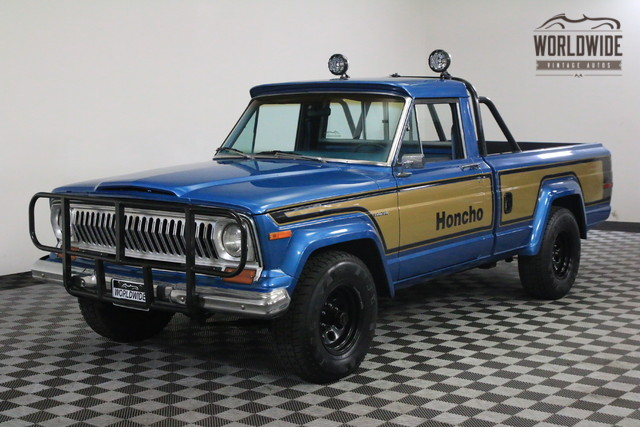 1978 Jeep J10 Honcho with Levi's Interior and Four-Sd