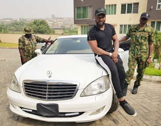 Harrysong Acquires Bulletproofed M-Benz