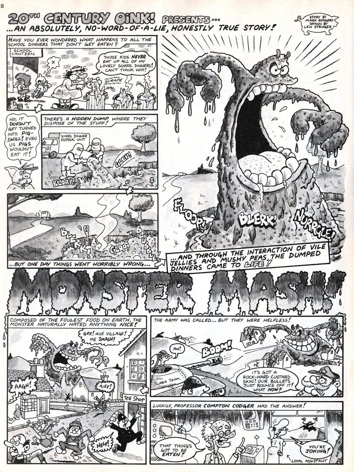 blimey! the blog of british comics: for halloween monster mash!