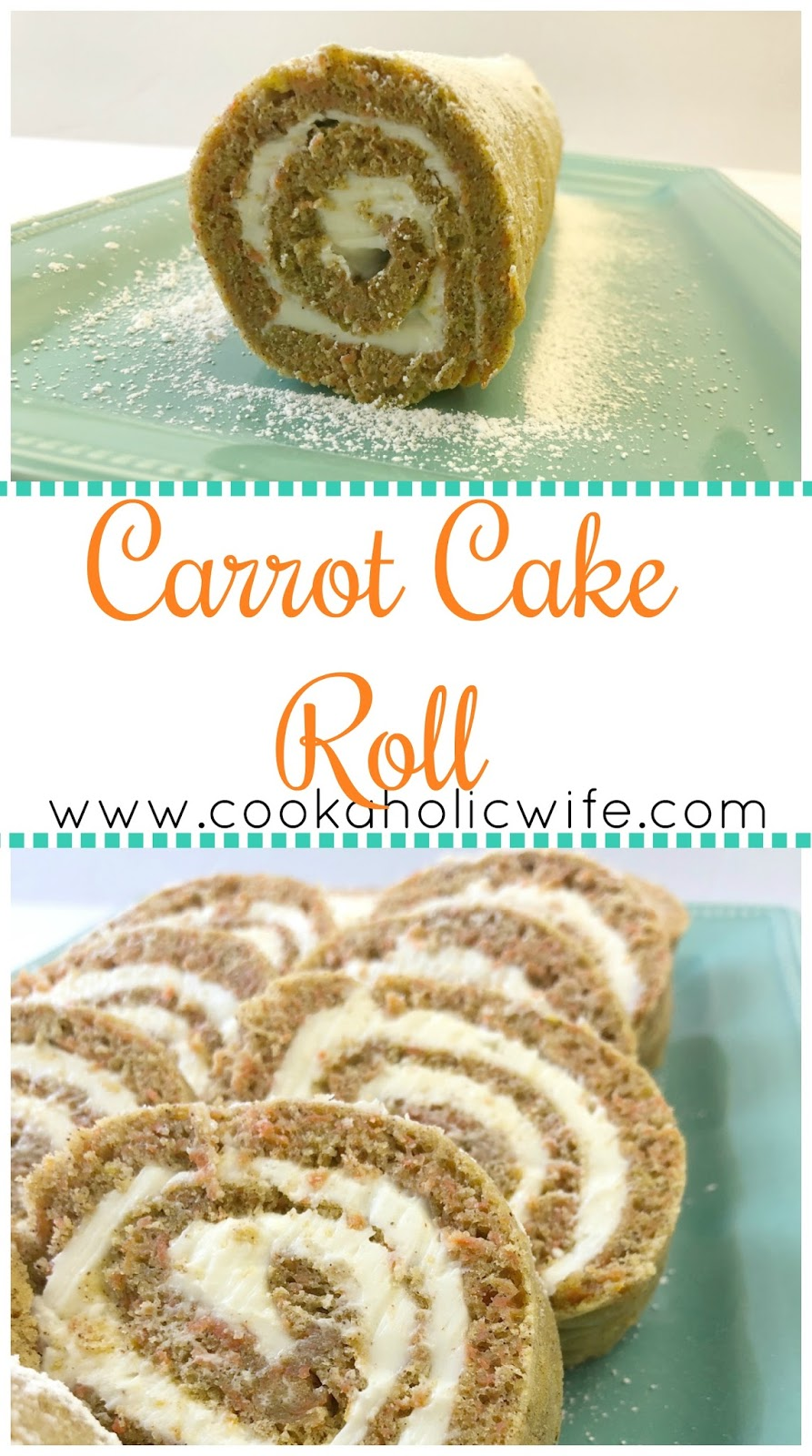 carrot cake roll cookaholic 2478