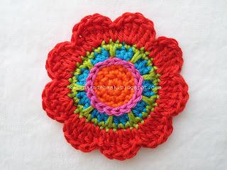 Karin Aan De Haak Flower Power Sleutel Of Tashanger