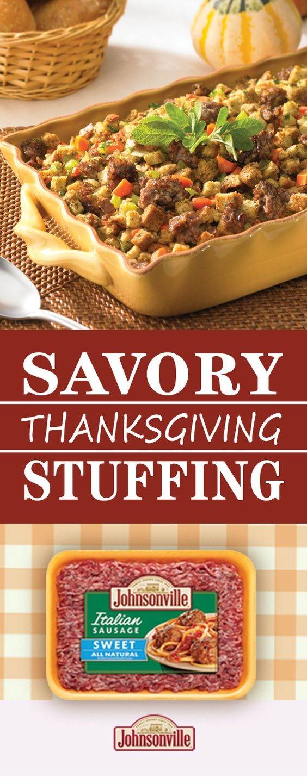 Savory Sausage Stuffing