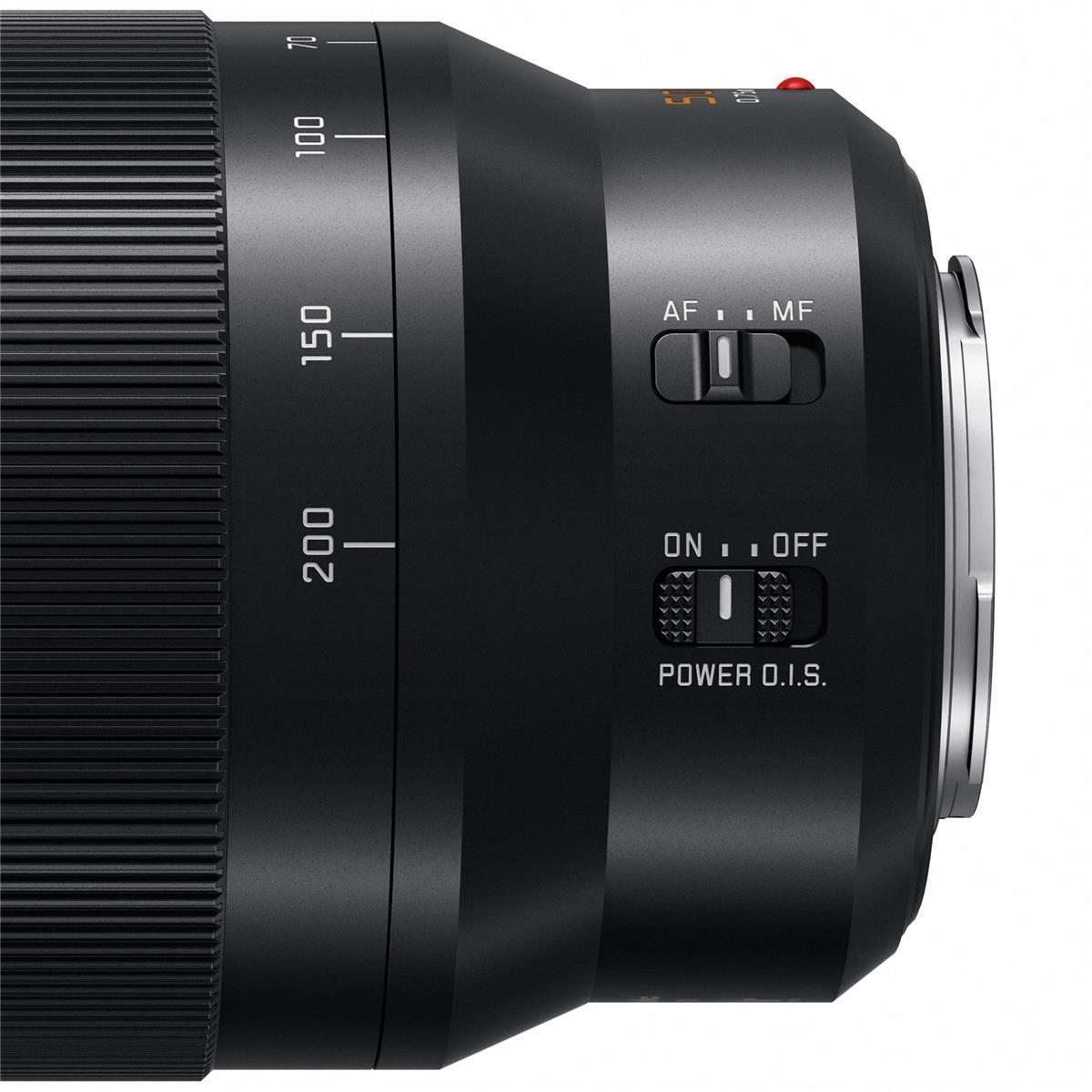 Органы управления Leica DG Vario-Elmarit 50-200mm f/2.8-4.0 Asph. Power OIS