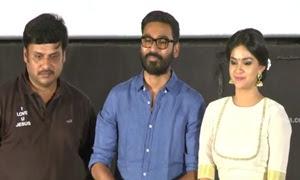 Dhanush at Thodari Movie Audio Launch