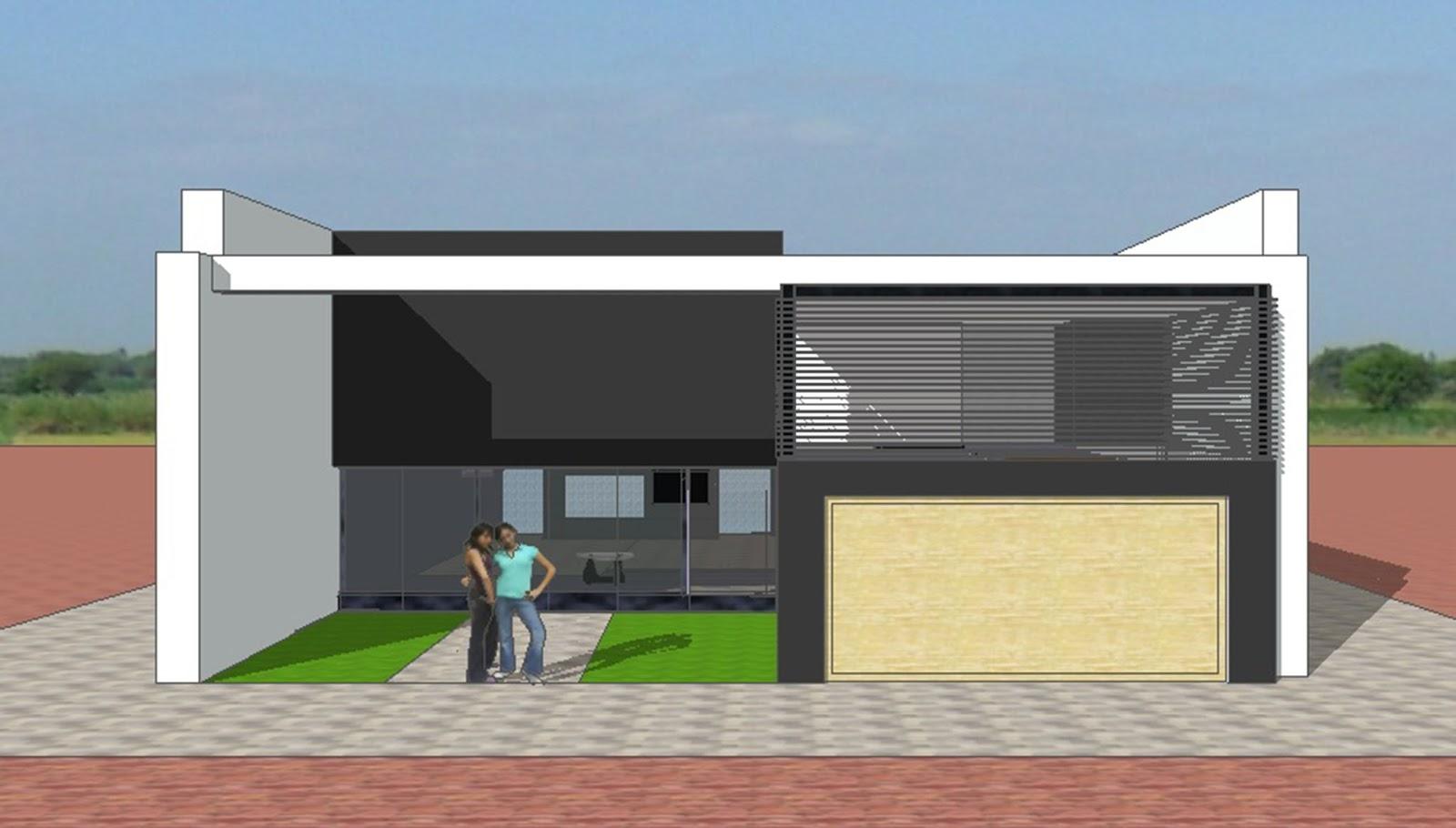 Fachadas y casas magn ficas fachadas para casas sencillas for Diseno de casa sencilla