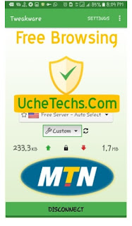 September MTN Free Browsing Tweakware
