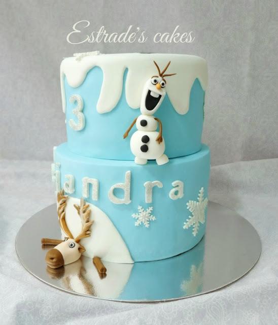Tarta Frozen de cumpleaños 5
