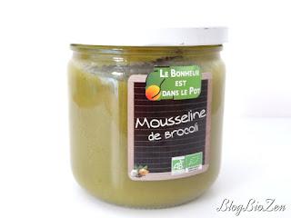 mousseline de brocolis - Le Bonheur est dans le Pot
