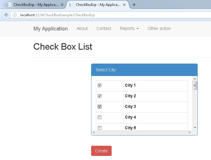 How to get checkboxlist selected items in comma separated format.