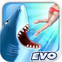 Hungry Shark Evolution 3.9.4 MegaMOD APK Terbaru
