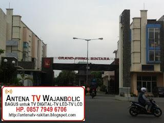 Jual ANTENA TV WAJANBOLIC  Grand Prima Bintara Bekasi