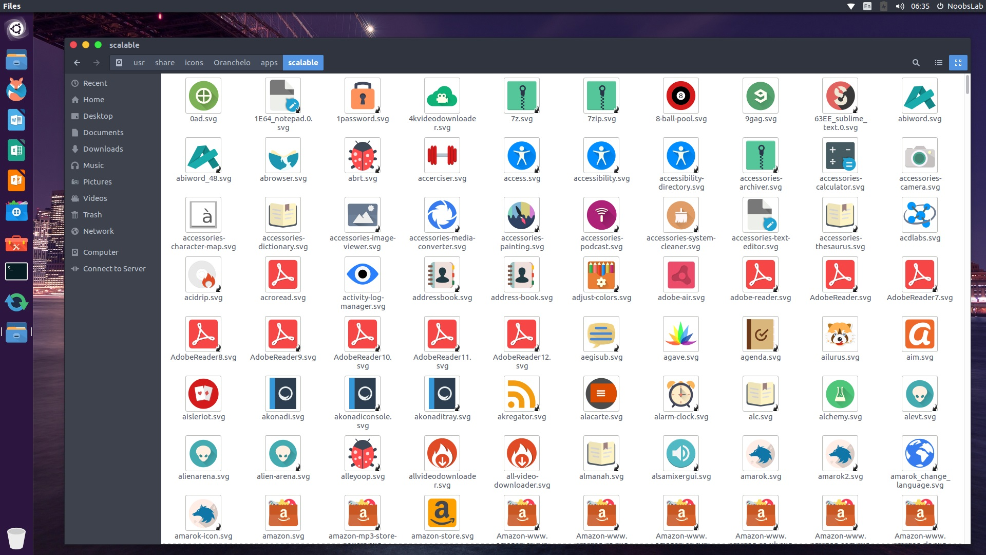Oranchelo: A Flat Icon Theme for Ubuntu/Linux MInt - NoobsLab | Tips