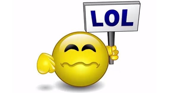 Emoticon LOL Animated Smiley