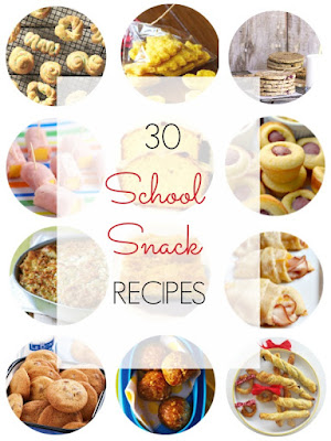 30 Recipe Round Up for School and After School Snacks - Ioanna's Notebook