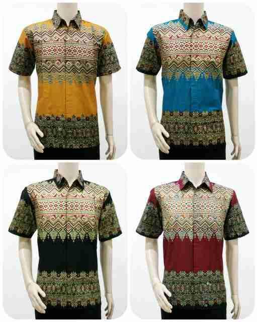 Batik Bagoes Solo Model Batik Pria Motif Tenun Songket