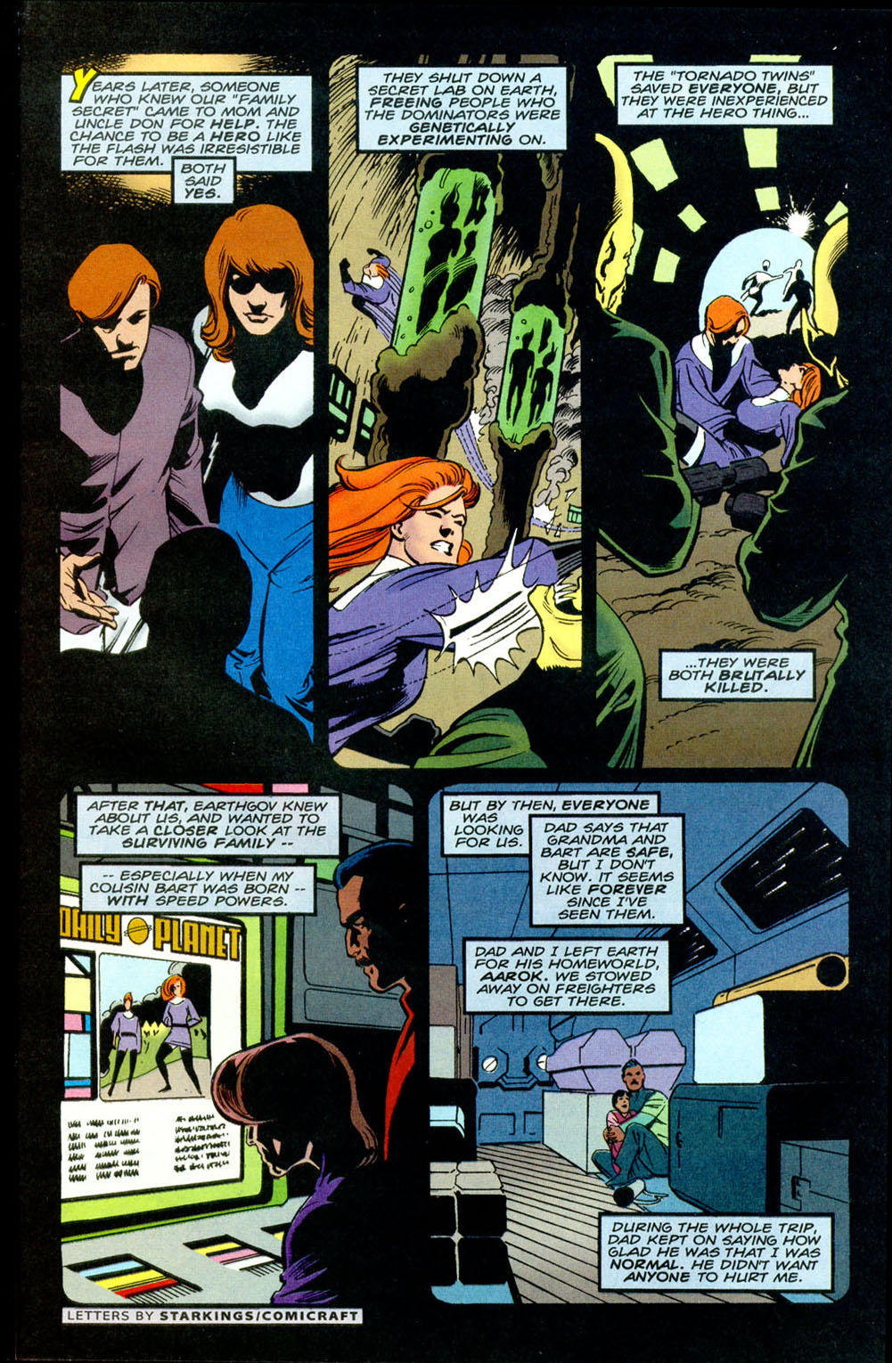 Legion of Super-Heroes (1989) _Annual_5 Page 12