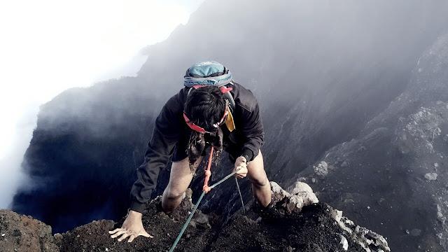 foto jalur pendakian gunung raung