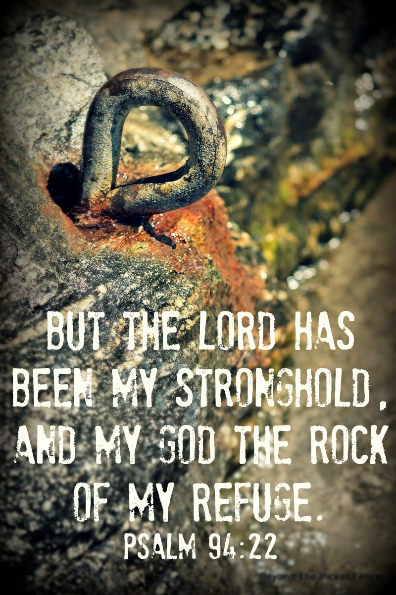 God is the rock bible verse http://bec4-beyondthepicketfence.blogspot.com/2014/08/sunday-verses_24.html