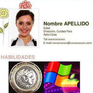 Curriculum: perfil de habilidades digitales