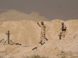Estado Islâmico está sob cerco em Palmira