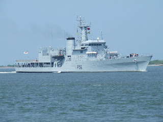 First Training Squadron ship INS Sujata