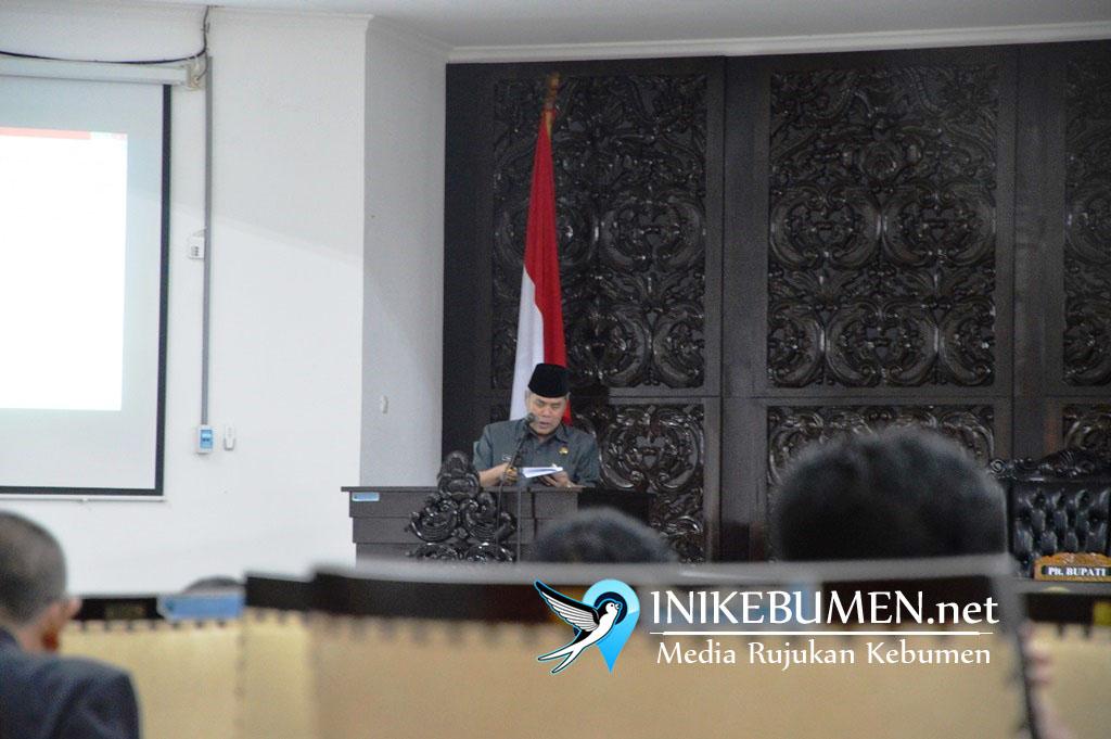Plt Bupati Kebumen Minta DPRD Cabut Dua Peraturan Daerah