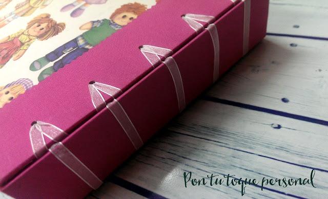 album recuerdos bebe bookbinding baby book