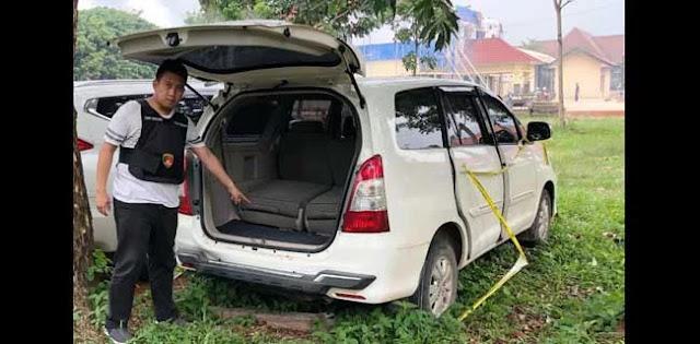 Polisi Temukan Mobil Milik Dufi Di Lampung Utara