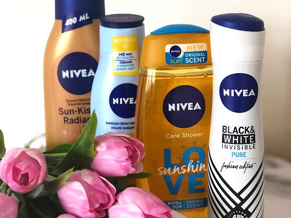Moje oblíbené letní produkty od Nivea