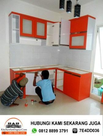 Jasa kitchen set bogor hub wa 0812 for Harga pembuatan kitchen set