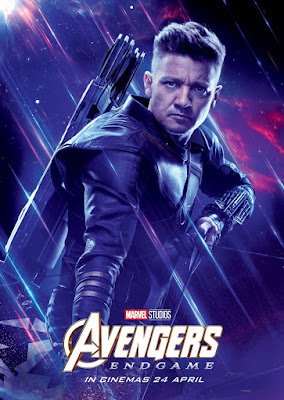 Marvel's Avengers: Endgame Theatrical One Sheet Character Movie Poster Set