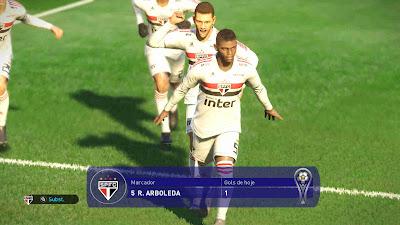 PES 2019 Scoreboard Conmebol Sudamericana 2019 by Eskpist