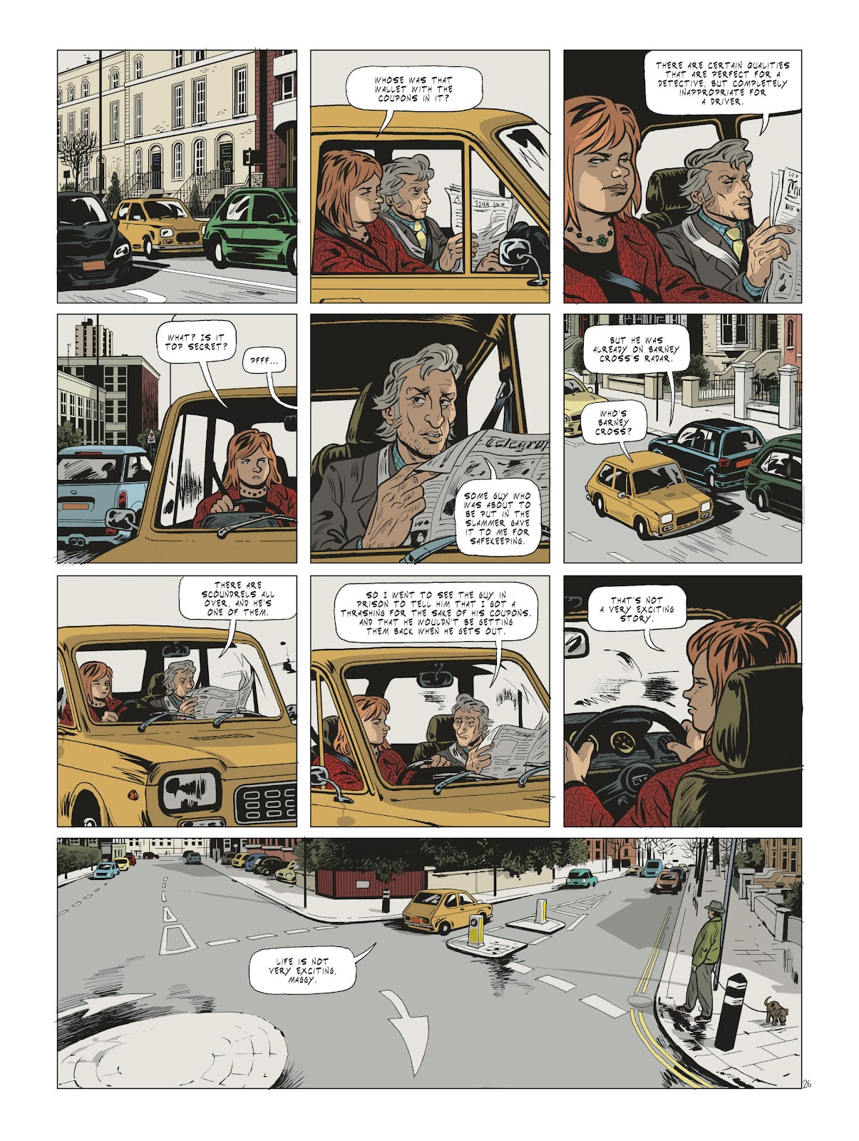 Read online Maggy Garrisson comic -  Issue #2 - 28