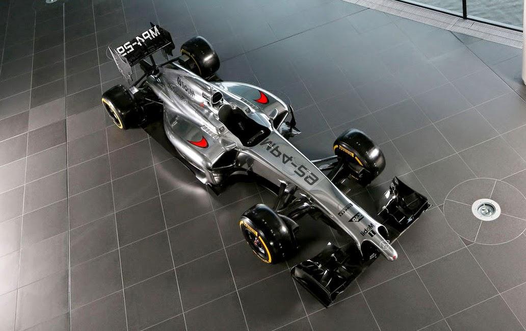 sport cars: mclaren f1 2014
