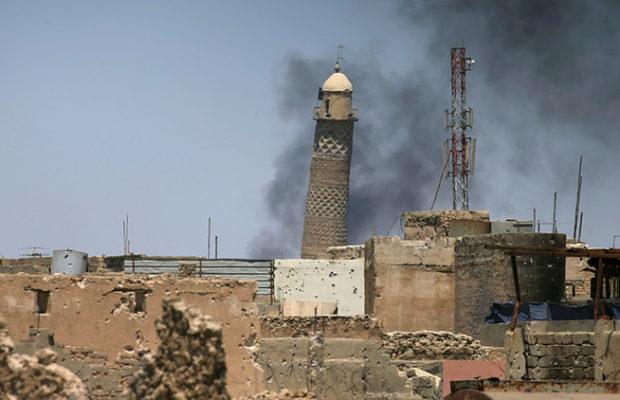 IRAQ: El Estado Islámico hace explotar la principal mezquita de Mosul
