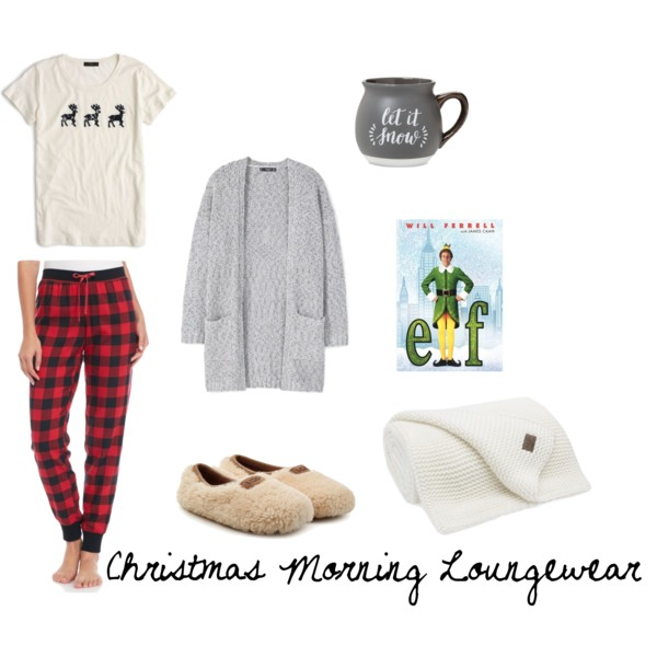 Christmas morning loungewear outfit inspiration