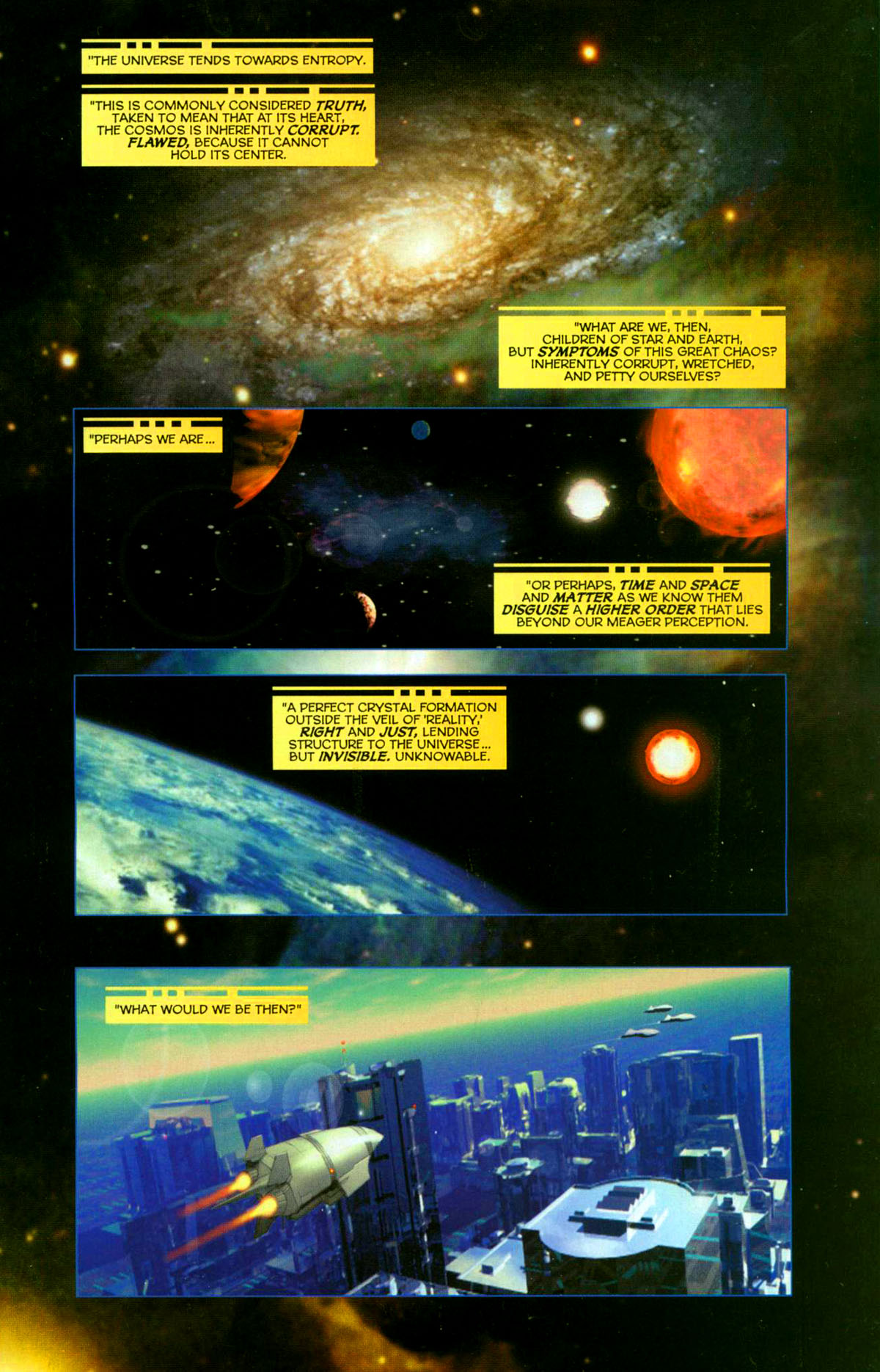 Read online Space Ghost (2005) comic -  Issue #1 - 2