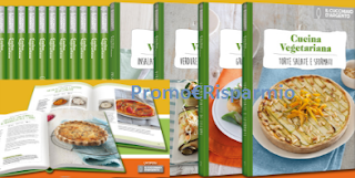 Logo Ricettari della Cucina Vegetariana in edicola