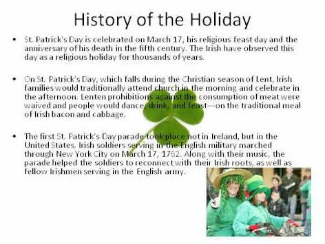 Saint Patrick History