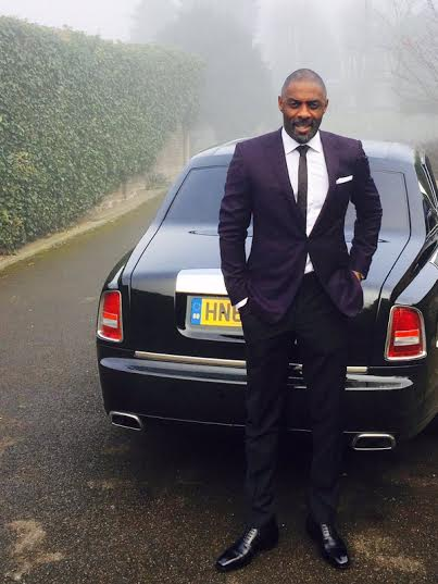 IDRIS ELBA GETS OBE AT BUCKINGHAM PALACE